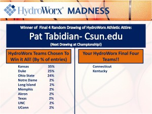 HydroWorx Madness Final Four Teams