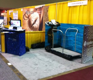 HydroWorx Water treadmill display