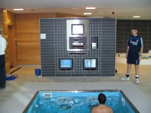 HydroWorx Therapy pool with tv screens