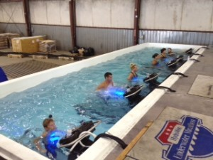 Underwater Marathon group at HydroWorx