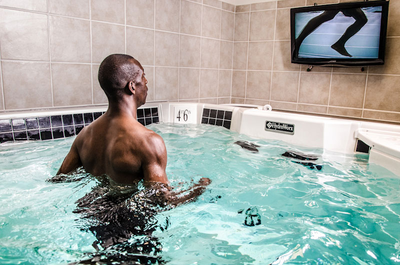 Michael Johnson Training Center Adds Hydroworx Exercise Pool