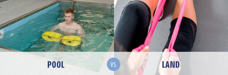 Shoulder Therapy: Pool vs Land