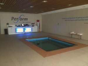 HydroWorx 2000 Series pool at Perform