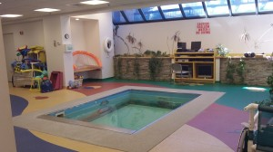 HydroWorx 2000 Series pool at Franciscan Children's Hospital