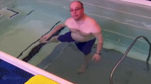Water therapy for Achilles Repari