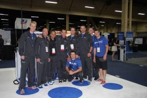 Some of the wonderful HydroWorx Team