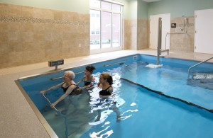 Warm Water Therapy in the HydroWorx 3500 Series pool