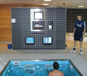 The HydroWorx pool at Chelsea FC