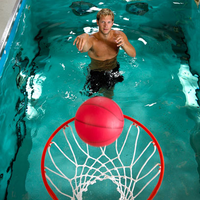 Basketball in the Pool