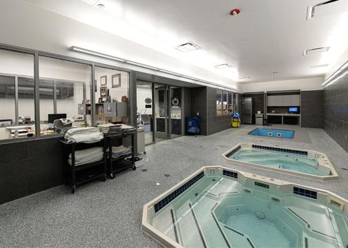 Facility spotlight penn state university pegula ice for Athletic training facility design