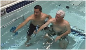 Hydrotherapy pool at Peak Performance Physical Therapy