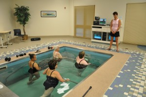 Wellness Group Class in the HydroWorx 2000 Series pool