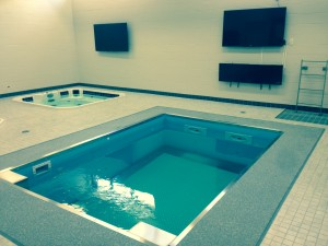 The hydrotherapy at Creighton University's new Championship Center