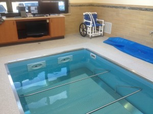 HydroWorx pool at Stonehill Franciscan Services