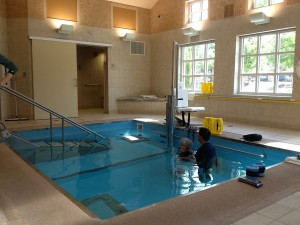 HydroWorx pool at Presbyterian Village North