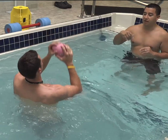 Aquatic Therapy at Peak Performance