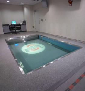 One of Ohio State University's HydroWorx pool