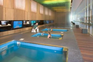 University of Oregon's Hydrotherapy center
