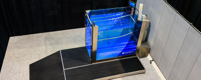 Portable Aquatic Treadmill Hydroworx 174 300 Above Ground