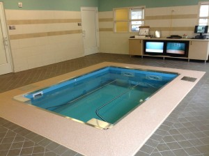 HydroWorx 2000 Series pool at Cerenity Senior Care