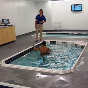 injury prevention in HydroWorx 500