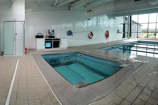 HydroWorx indoor pools
