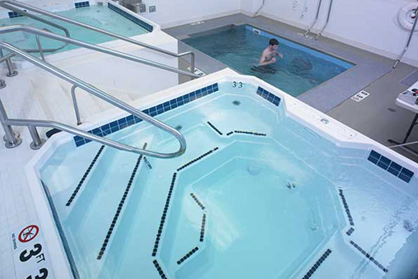 Running in HydroWorx pool