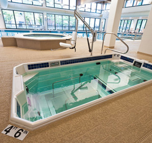 Indoor HydroWorx pool