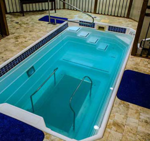 HydroWorx indoor training pool