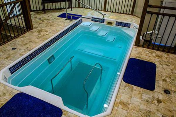 HydroWorx indoor training pool