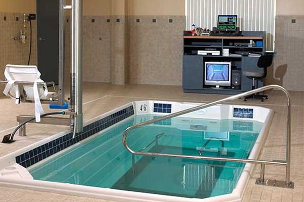 HydroWorx training pool setup