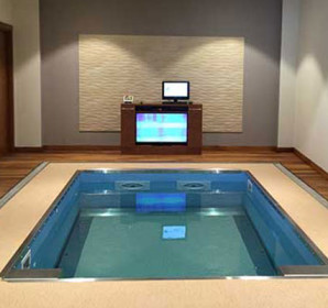 Individual HydroWorx pool room