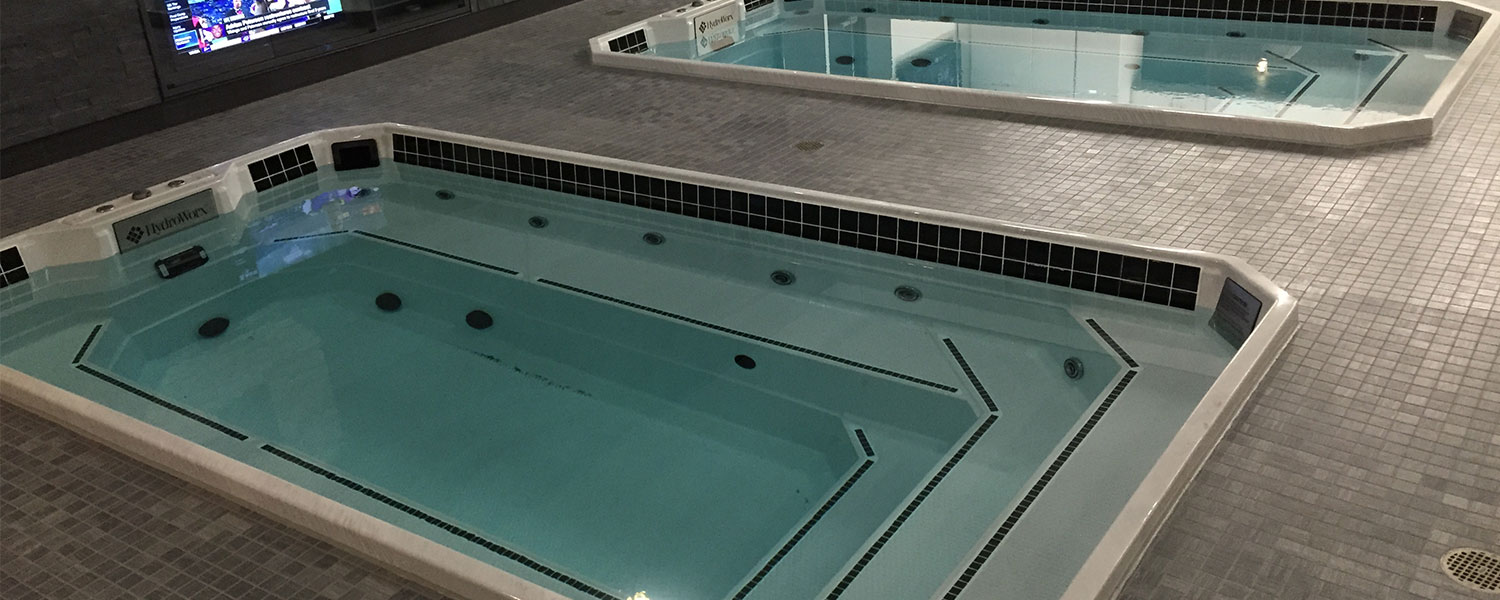 HydroWorx Plunge Pool Overhead Angle Photo