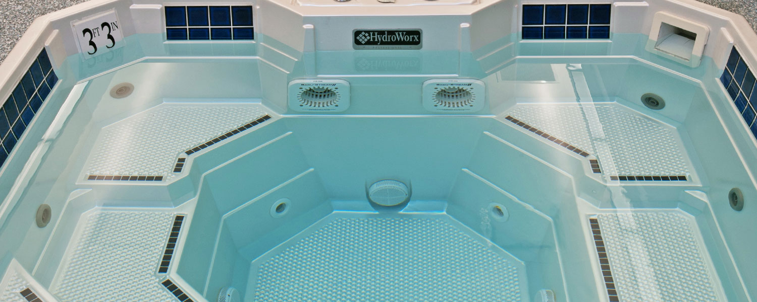 HydroWorx Plunge Pool Overhead Photo