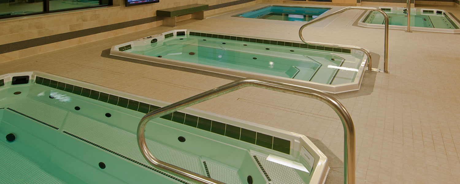 HydroWorx Plunge Pool Side View