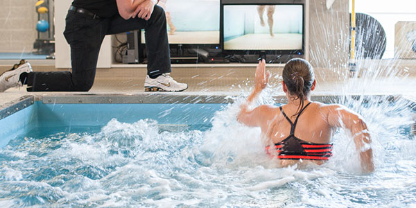 Supplement Your Athletes Or Patients Land Workouts With The Nearly Weightless Underwater Treadmill Technology Included In All Our Exercise And Physical