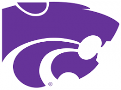 kansas state university logo purple