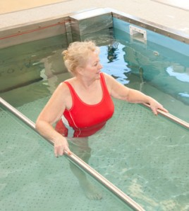 Succesful aquatic therapy program
