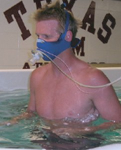 Research at Texas A&M on underwater treadmill exercise