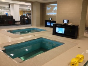Lower Extremity Rehab at Jacksonville Jaguars Hydrotherapy Room
