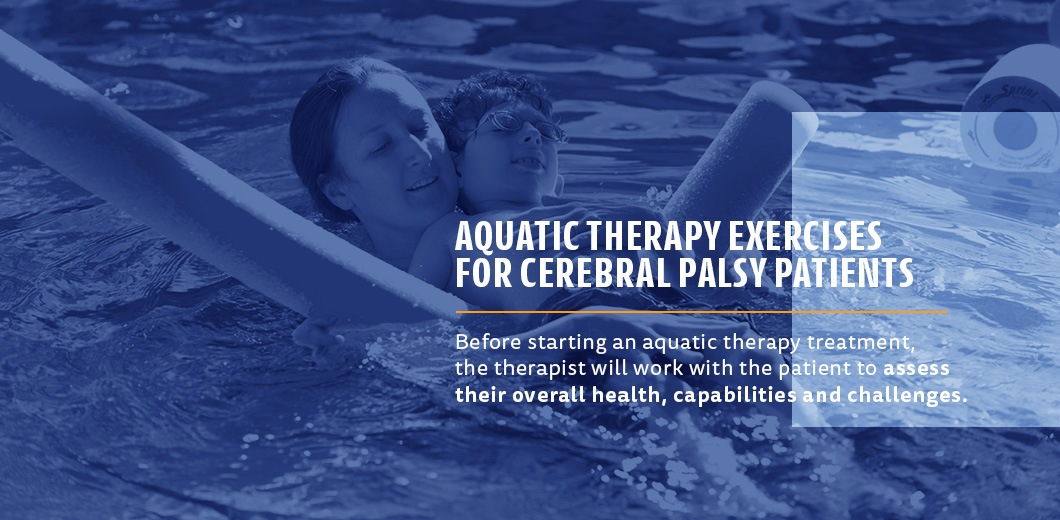 aquatic therapy exercises for cerebral palsy