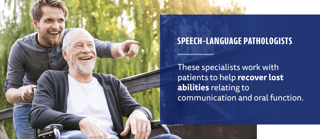 speech-language pathology for stroke patietnts