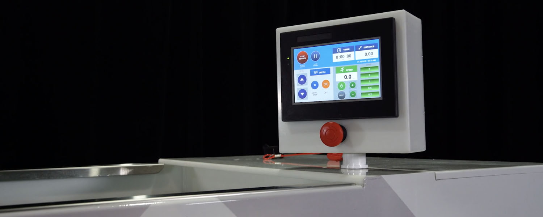 hydroworx EVO computer screen