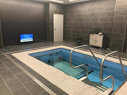 Purdue University pool room