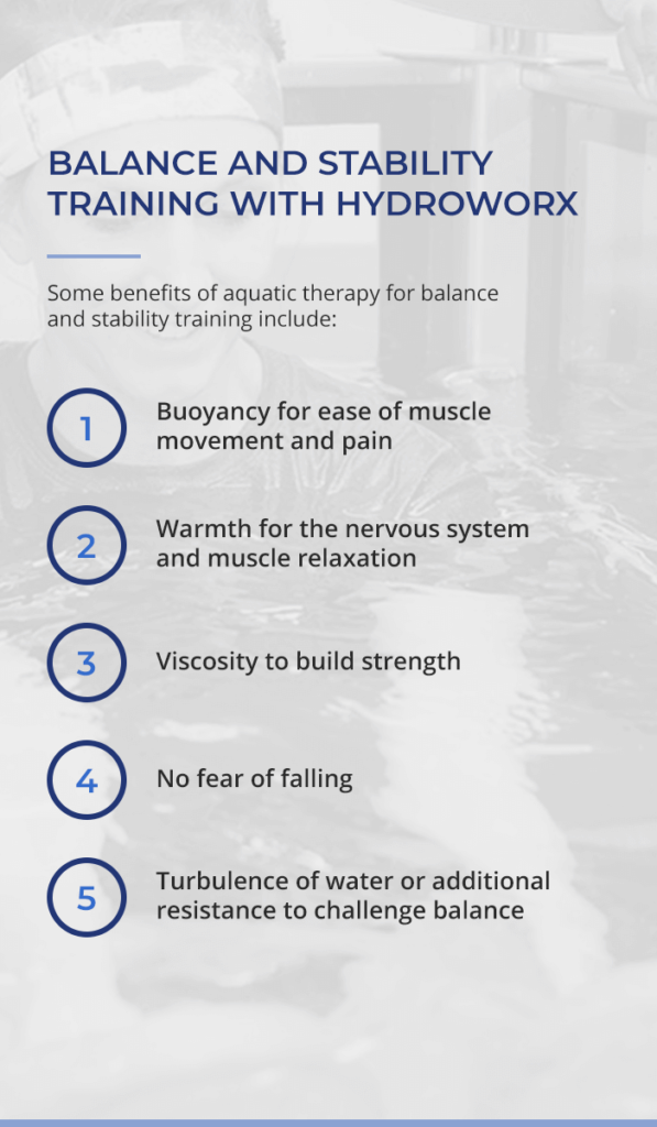 Balance and Stability Training With HydroWorx