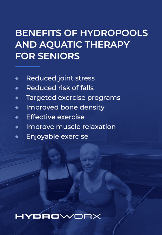 Benefits of HydroPools and Aquatic Therapy for Seniors
