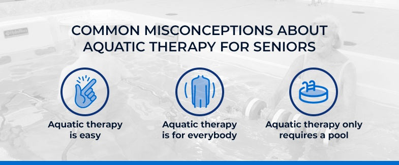 Common Misconceptions About Aquatic Therapy for Seniors