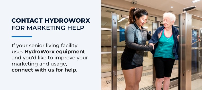 Contact HydroWorx Today for Marketing Help